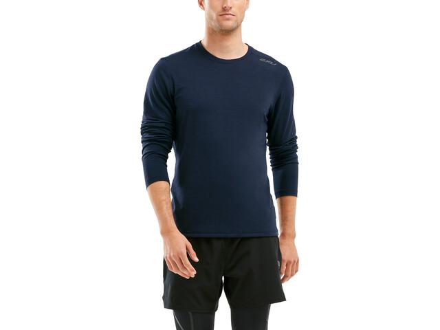 2XU Heat Longsleeve Shirt Men, skydiver marle